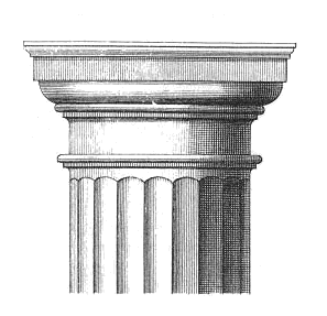 doric pillars